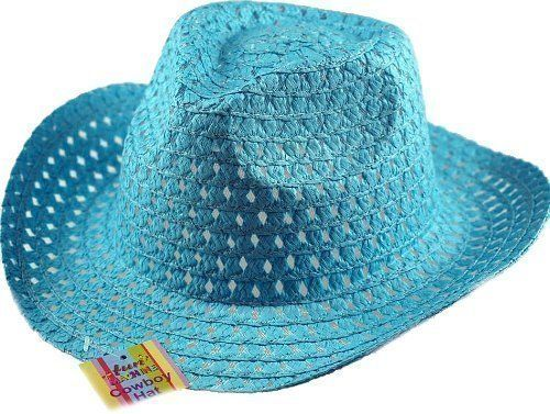From 1.99:Boys Easter Cowboy Hat - Ideal To Decorate - Blue By Dp | Shopods.com