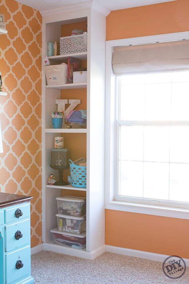You can never have enough storage. Learn how to build a custom bookcase!