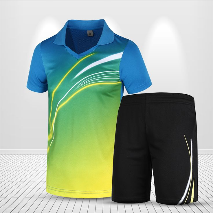 Badminton Uniform Men Women Sports Clothing Table Tennis Clothes Tennis Sets Badminton Outfits Speed Dry Wear T-shirt Shorts