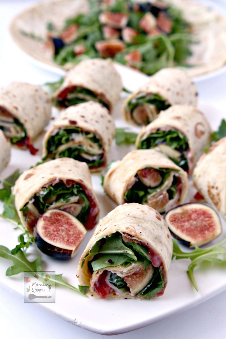 Fig, prosciutto, arugula and creamy mascarpone all join in to create a wonderful taste that you will love in this sandwich wrap. Everyone who has tasted this sandwich always asks for the recipe as they are instantly intrigued with its sweet, salty, creamy and delicious flavor combo.