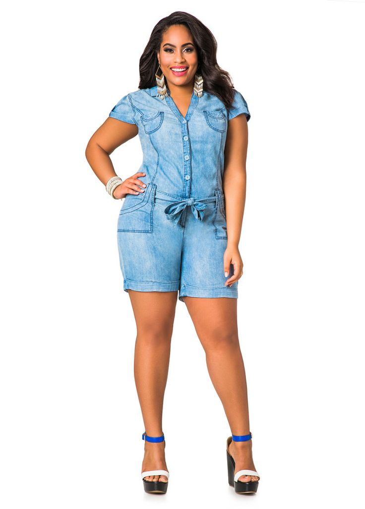 how to wear a romper plus size