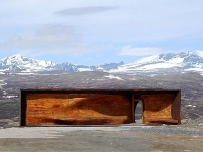 Dovrefjell-sunndalsfjella National Park, Dovre, Norway    http://www.smithjournal.com.au/blogs/adventure/the-wild-reindeer-centre-pavilion