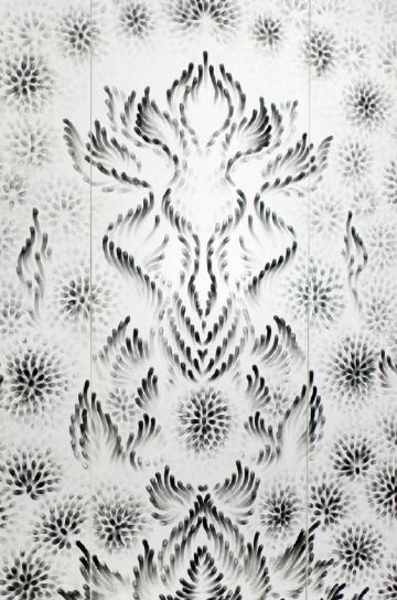 Creating art using fingers only - Judith Ann Braun