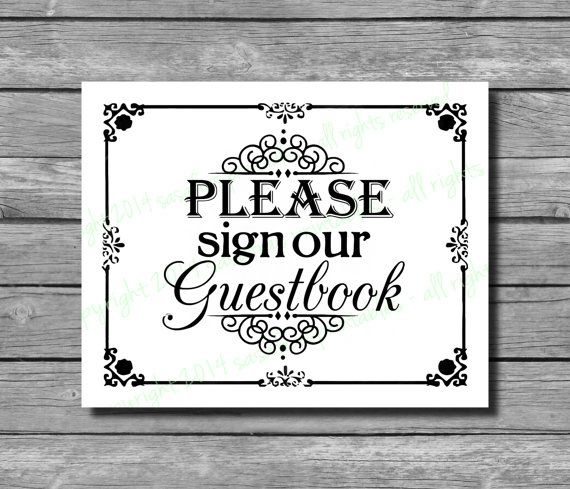 17 best images about please sign guestbook on pinterest jenga blocks wedding signs and pearls. Black Bedroom Furniture Sets. Home Design Ideas
