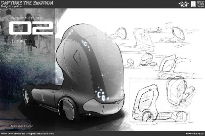 Week 2 Truck Concept by Sebastain Lorenz