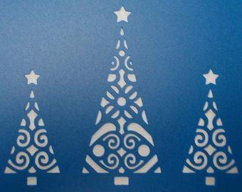 Árboles de Navidad por kraftkutz en Etsy