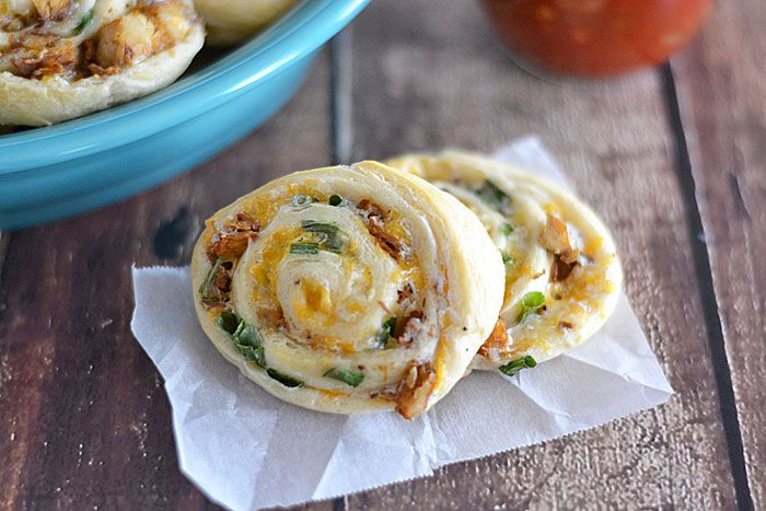 With just five ingredients, these Fiesta Pinwheels are the perfect game day appetizer!