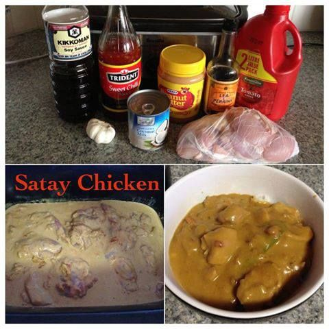 Satay Chicken | Slow Cooker Central
