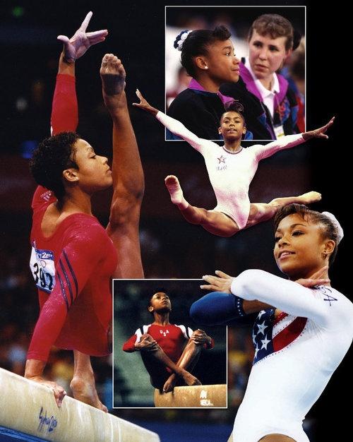 Dominique Dawes, 1992 Barcelona Olympics, 1996 Atlanta Olympics, 2000 Sydney Olympics