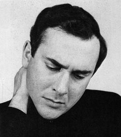 Harold Pinter (English playwrigt, screenwriter, director and actor)