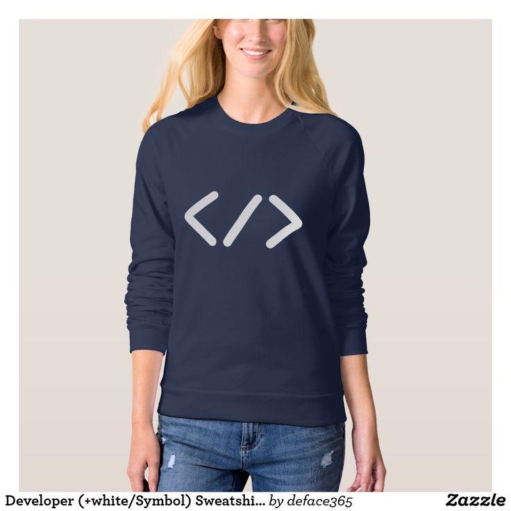 Developer (+white/Symbol) Sweatshirt