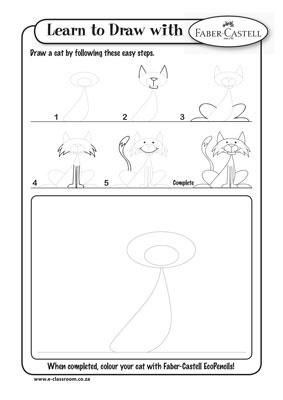 Cute Cat Video Drawings