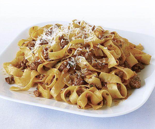 Tagliatelle with Quick Lamb Sugo recipe