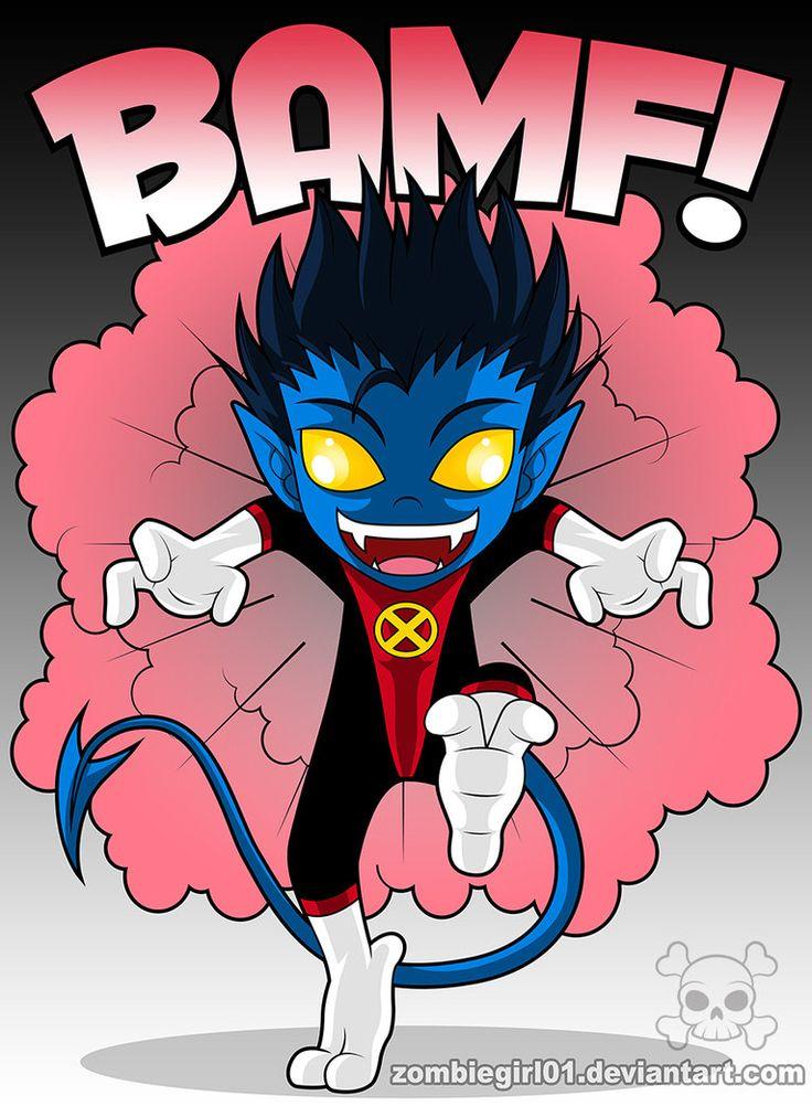 Nightcrawler X-Men | Chibi Nightcrawler by ZombieGirl01 ... X Babies Nightcrawler
