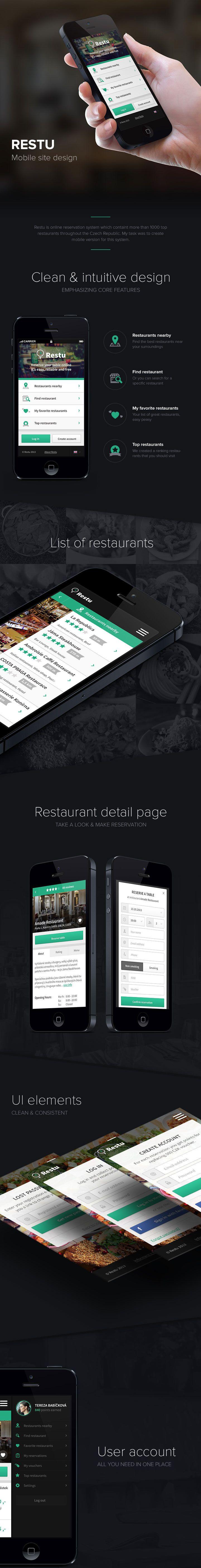 Restu mobile site