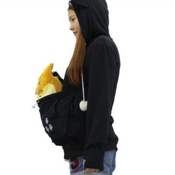 awesome  Cute Sweatshirts With Cat/little dogs & other pets bags