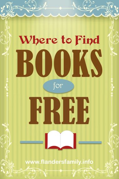 Where to get free books online -- paperbacks, hardbacks, digital and audio books