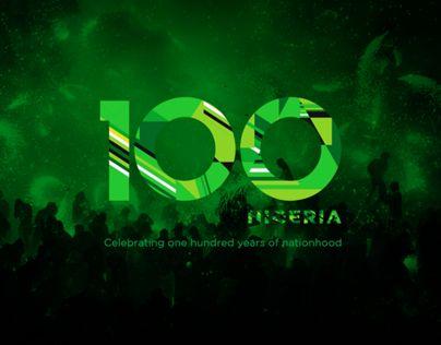 "Consulta este proyecto @Behance: ""Nigeria Centenary Logo - Uninvited Redesign"" https://www.behance.net/gallery/11873603/Nigeria-Centenary-Logo-Uninvited-Redesign"