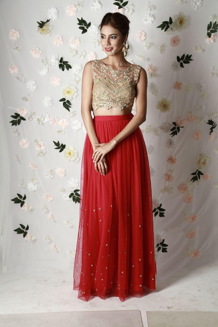 Gold Blouse & Rose Skirt — WaliaJones