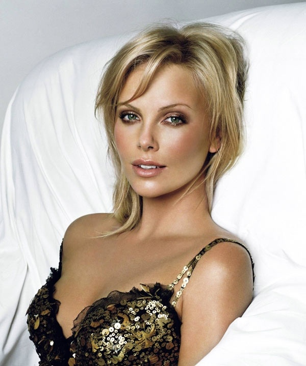 My girl crush!!  Charlize Theron who is  possibly the most beautiful woman on earth.