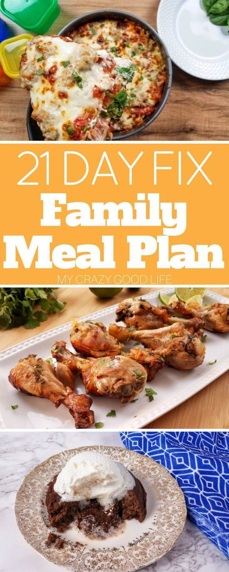 Creating a 21 Day Fix family meal plan can be tough, kids are picky! This meal plan is packed with recipes that the whole family can enjoy together.