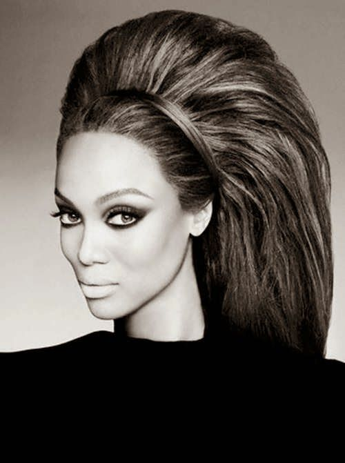 We can talk about bouffant- Tyra Banks-pin it by carden...love me some tyra