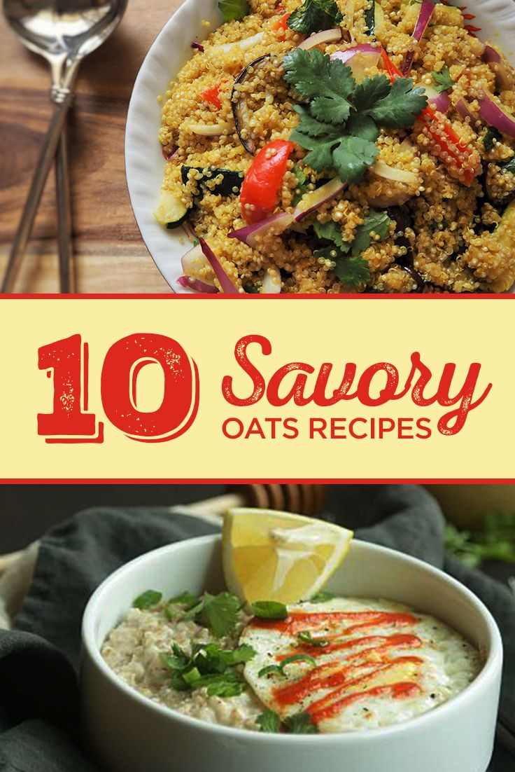 10 Savory Oatmeal Recipes You Need in Your Life! We've gathered up some of our favorite savory oat recipes for you to try. They are really easy to make and very nutritious. Discover them here.