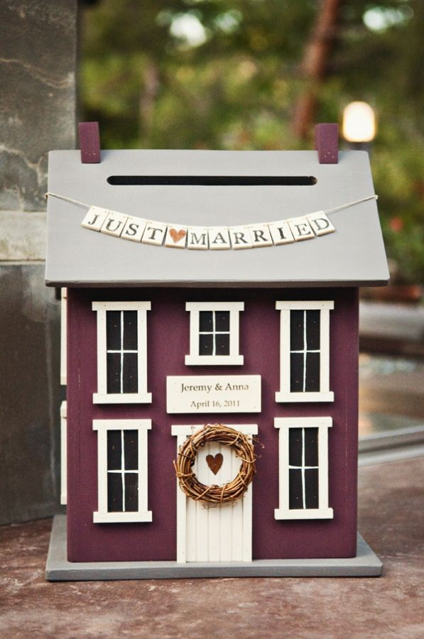 House Fund box for the wedding pressie list!