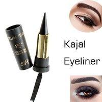 Wish | Waterproof Smoky Eyes KAJAL Eyeliner Solid Thick Black Bold Eyes Liner Gel Pencil Makeup Arabian