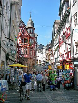 Marburg - Wikipedia, the free encyclopedia  Old Town--what a magical place!!!!