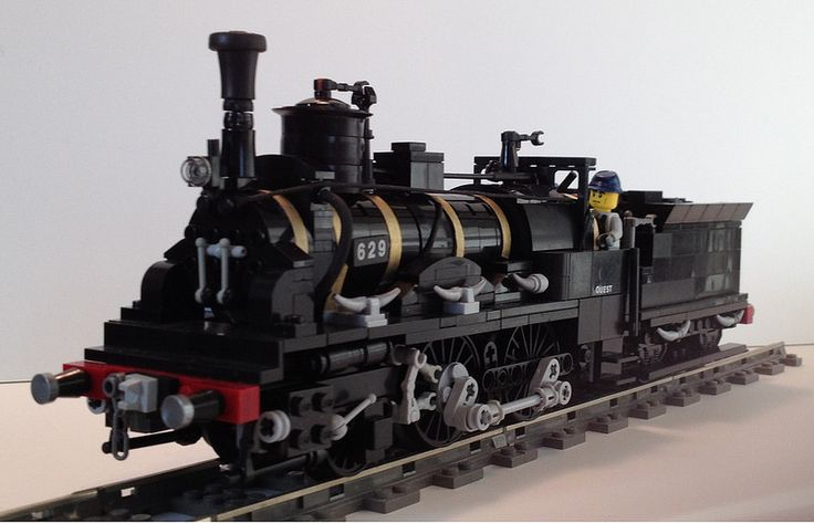 Outstanding French Steam Locomotive
