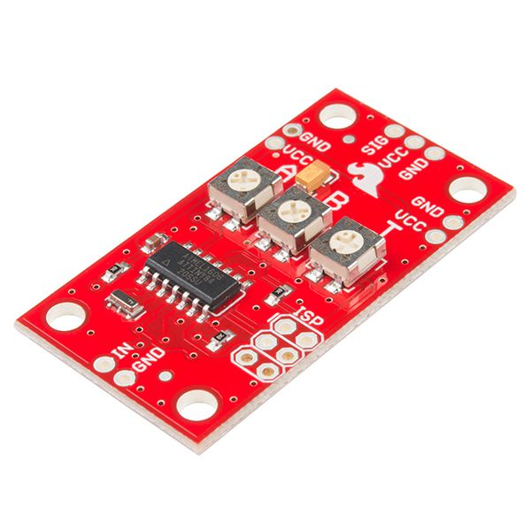 Easily control servo motors with no programming *SparkFun Servo Trigger*