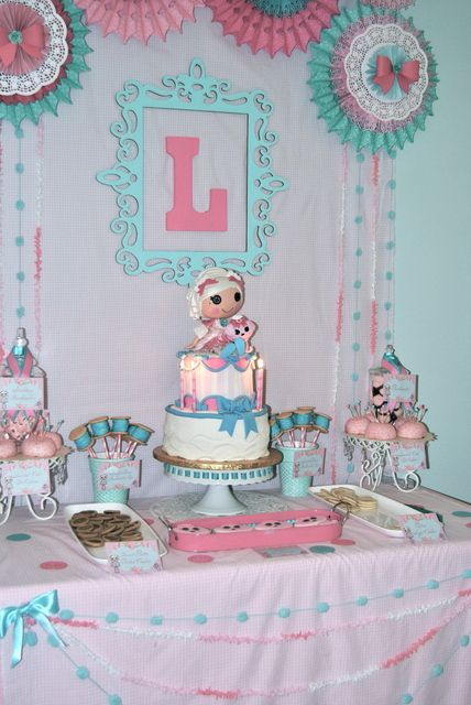 Lalaloopsy Party - cute cake!