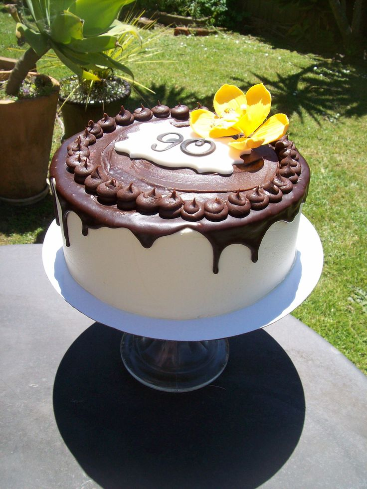 90th Birthday Cake Auckland 195 Cake Is 8 Inch And Caters