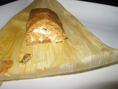 Jalapeño Cream Cheese Tamales - mighty try to make these for the Christmas Party