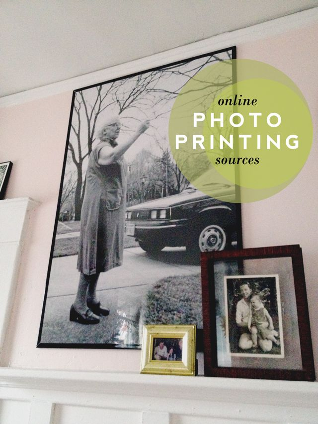 Aunt Peaches: My Favorite Online Photo Printing Sources / Walgreens for giant poster photos