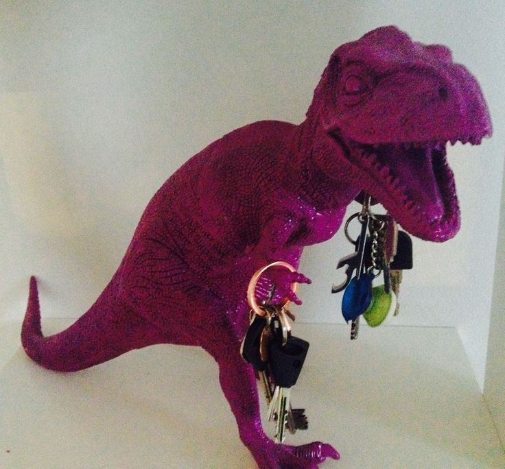 Diy, Key hanger, Dinosaur, Deco, Home