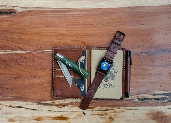 Bexar Goods Co :: Texas Makers of Durable Goods — Apple Watch Strap - Bexar Goods