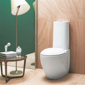 Clas+ Italiensk designer toilet til badeværelet