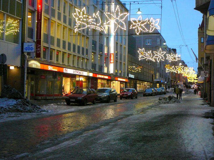 #tampere #tammerfors #city #christmas #lights #winter
