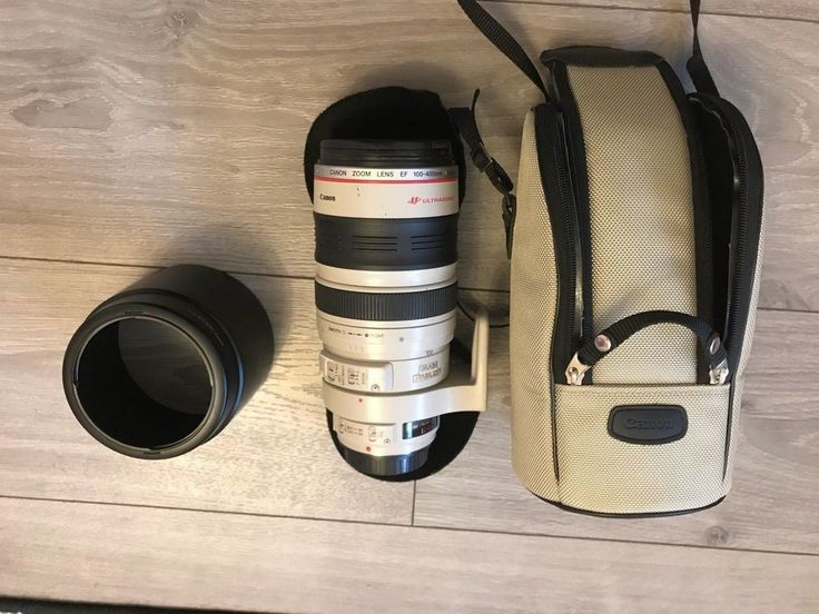USED CANON ZOOM LENS EF 100-400MM 1:4.5-5.6 L IS ULTRASONIC