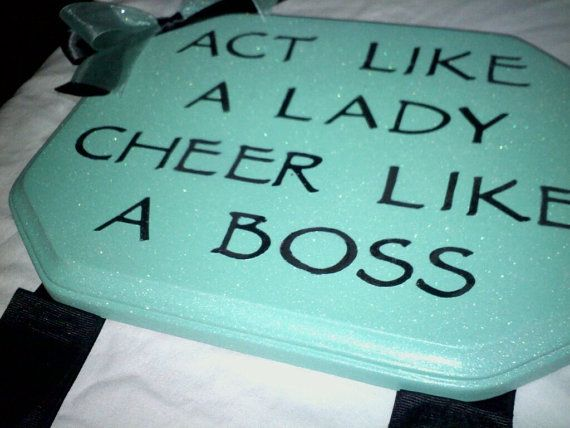 Cheer Bow Holder by GeminiMade on Etsy