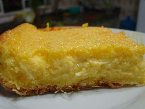 bolo cremoso de milho s/farinha