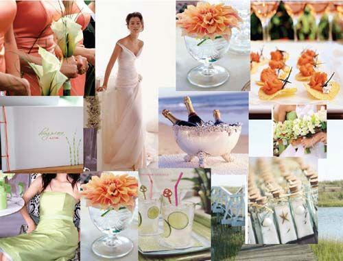 Orange Creme WeddingWedding Ideas, Inspiration Boards, Colors Combinations, Colors Schemes, Wedding Colors, Wedding Reception, Beach Wedding, Summer Wedding Theme, Orange Beach