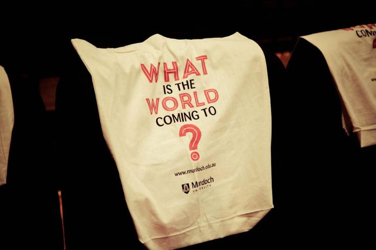 Find out what the world is coming to! Just one of the many activities you can participate in as a Murdoch University Student. Find out more online: http://www.murdoch.edu.au/Future-students/International-students/