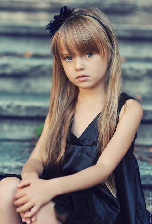 世界一の美少女ロシア人(8さい)
