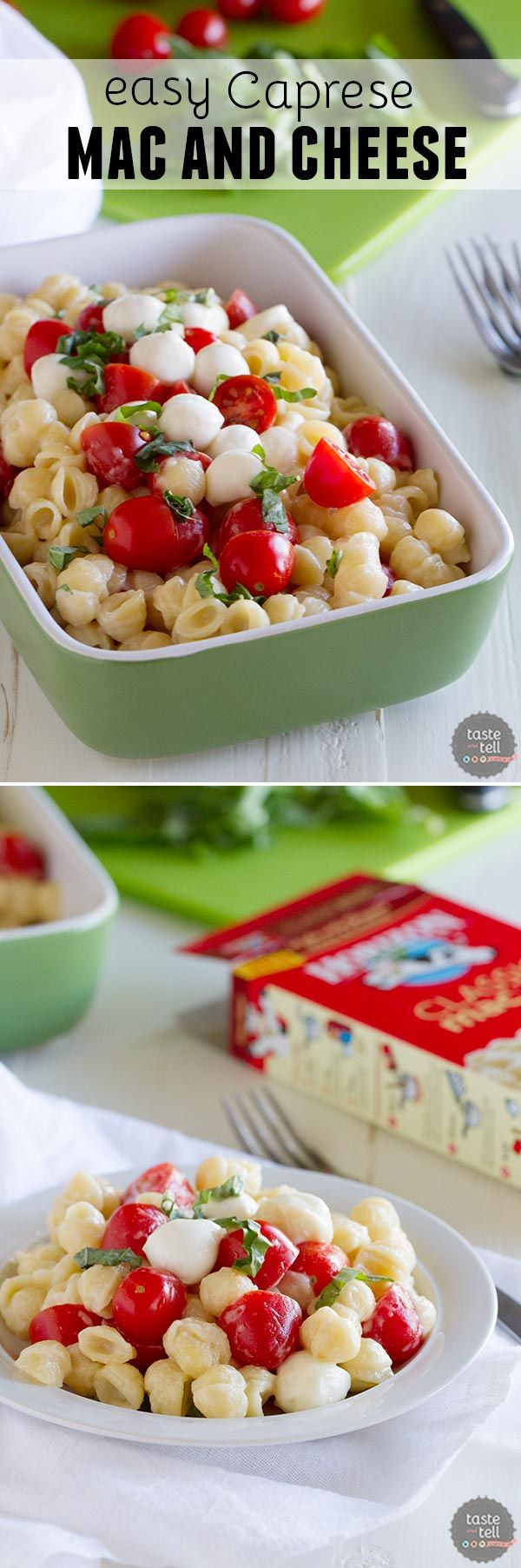 with this Easy Caprese Mac and Cheese. Jazz up your mac and cheese ...