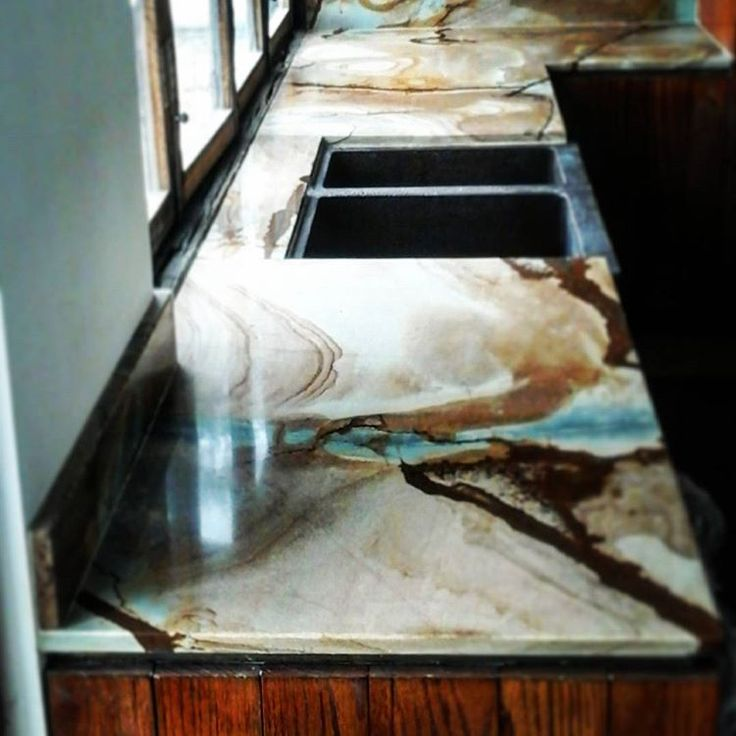 l Proceso de instalación #cubierta l #Antolini #fusionWOW #quartzite #countertop #kitchencountertop #designandbuild #kitchendesign