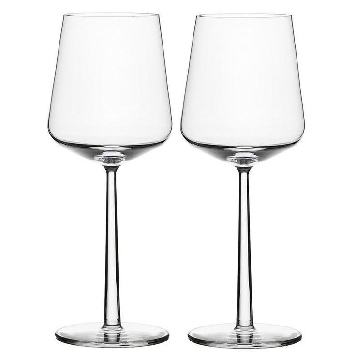Radically simple. Alfredo Haberli suggested a new series of glassware with an essential idea: have as few glasses as possible, while still being able to serve a full range of fine wines. The Essence glasses have become a true demonstration of thoughtful design. Standing next to each other, they create a wonderful sense of balance. This is due to the fact that the stem and base of each glass are the same size, while the tumblers share similar proportions.  Sold as a pair.
