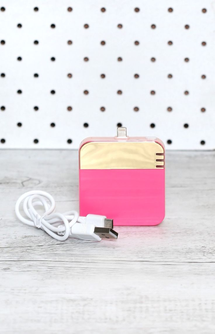 Ban.Do Back Me Up iPhone Charger #BBFEST #beginningboutique
